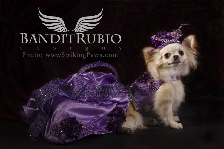 Anthony Rubio's Purple Haze Dress