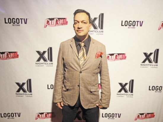 Anthony Rubio at the premiere party for RuPaul's Drag Race Season 5 at XL Nightclub