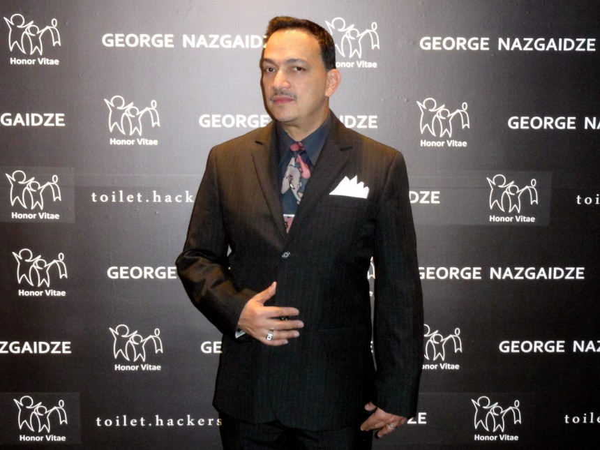 Anthony Rubio attends Charity Meets Fashion Holiday Celebration Honoring The Worlds Children