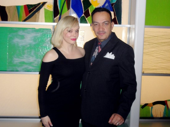 Anthony Rubio, Rose McGowan attend Charity Meets Fashion  Honoring The Worlds Children