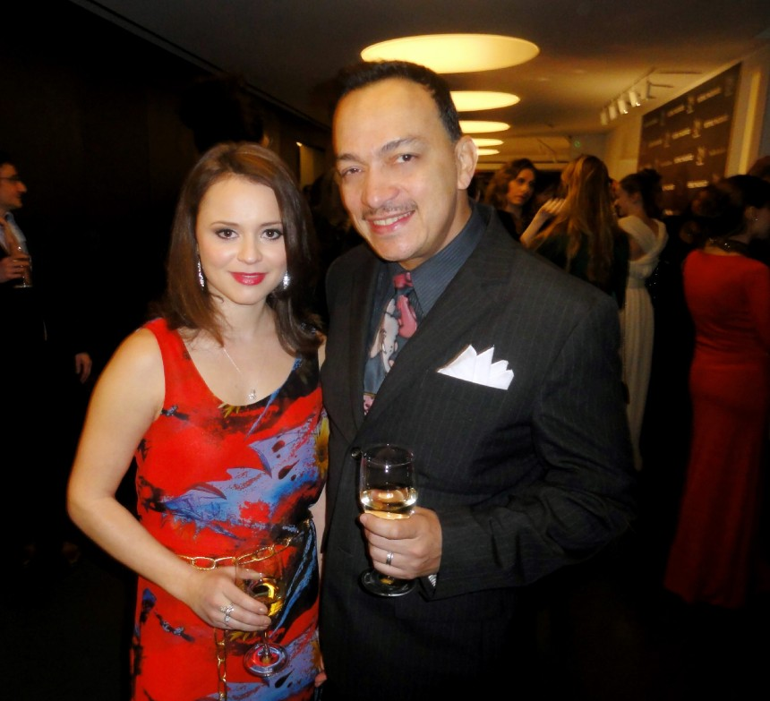 Anthony Rubio, Sasha Cohen attend Charity Meets Fashion Honoring The Worlds Children