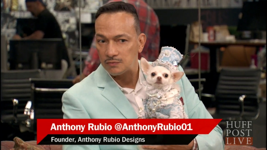 Anthony Rubio's Second Appearance on Huffpost Live - September 2015
