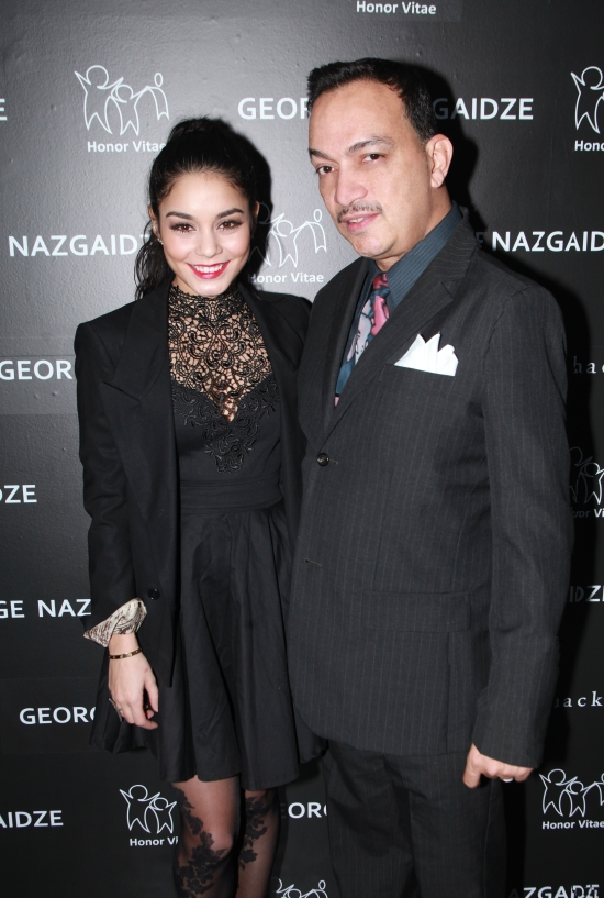 Anthony Rubio, Vanessa Hudgens attend Charity Meets Fashion Holiday Celebration Honoring The Worlds Children