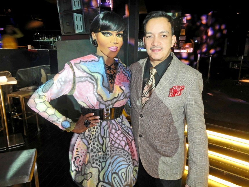 Coco Montrese and Anthony Rubio at the premiere party for RuPaul's Drag Race Season 5 at XL Nightclub