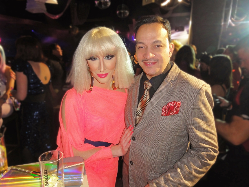 Detox and Anthony Rubio at the premiere party for RuPaul's Drag Race Season 5 at XL Nightclub