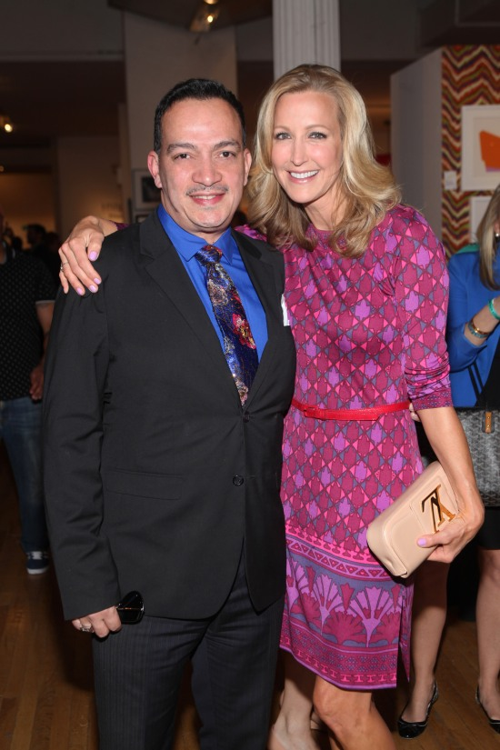 Anthony Rubio with Lara Spencer at the 2013 Design On A Dime
