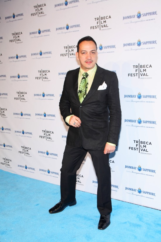 Anthony Rubio attends Bombay Sapphire's Imagination Series Film World Premiere
