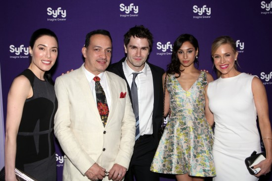 Jaime Murray (Syfy's TV show Defiance), Anthony Rubio, Sam Witwer (Syfy's TV show Being Human), Meaghan Rath (TV show Being Human)  and Julie Benz (TV show Defiance)