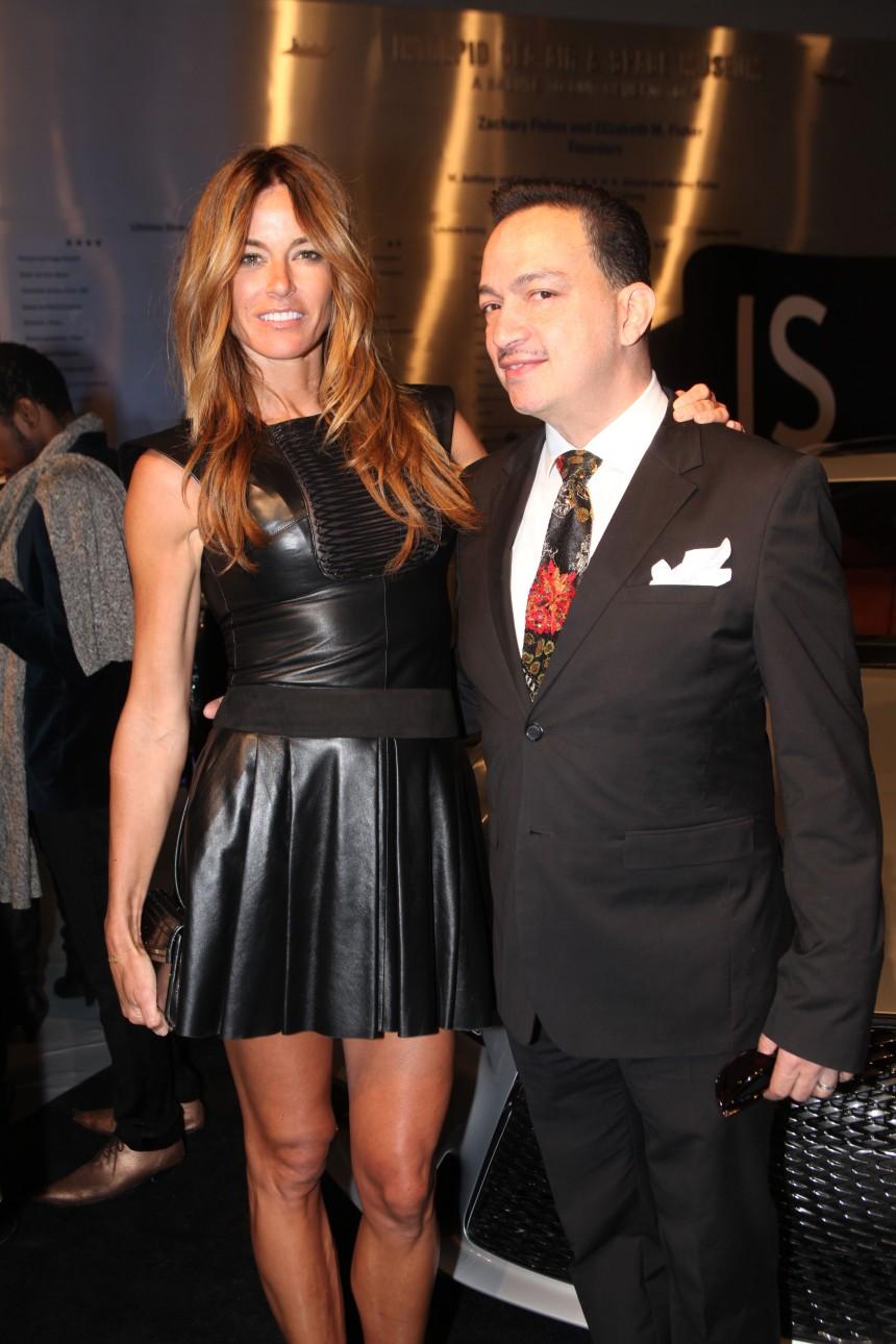 Anthony Rubio and Kelly Bensimon at Jeffrey Fashion Cares 10th Anniversary Celebration