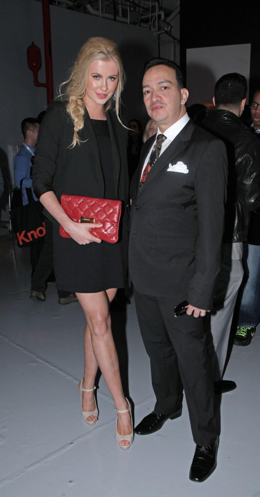 Anthony Rubio and Ireland Baldwin at Jeffrey Fashion Cares 10th Anniversary Celebration