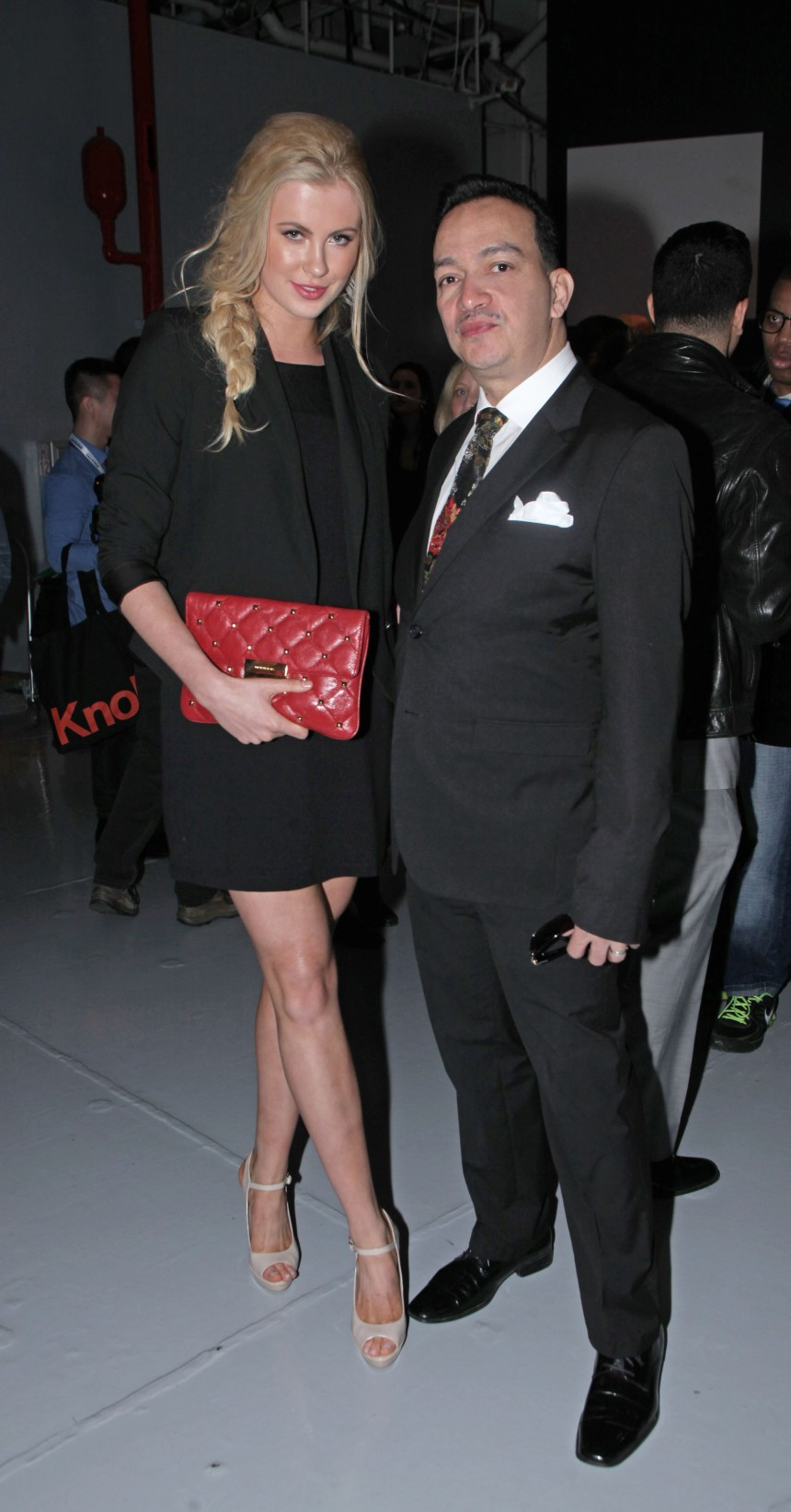 Anthony Rubio and Ireland Baldwin at Jeffrey Fashion Cares 10th Anniversary Celebration