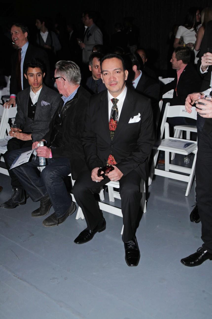 Anthony Rubio at Jeffrey Fashion Cares 10th Anniversary Celebration on The Intrepid