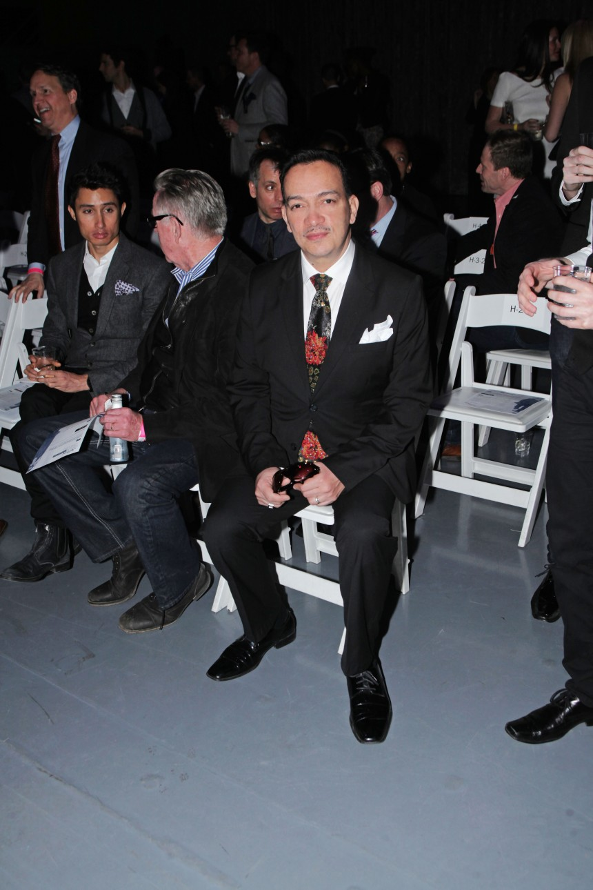 Anthony Rubio at Jeffrey Fashion Cares 10th Anniversary Celebration on The Intrepid