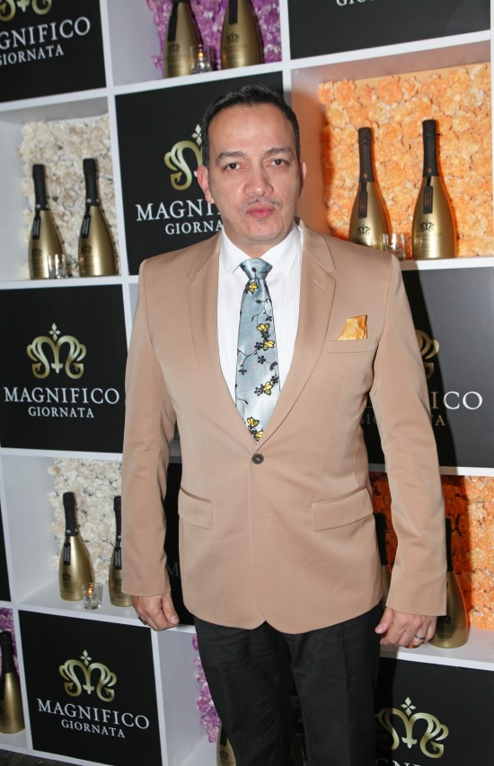 Anthony Rubio at Magnifico Giornata's Infused Essence Launch Party