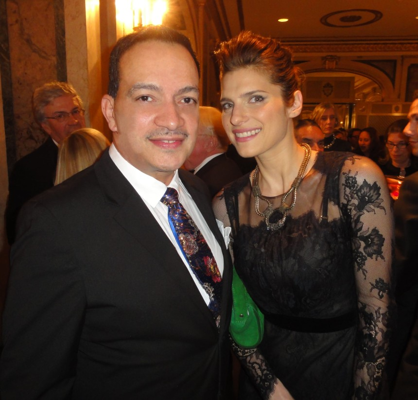 Anthony Rubio with actress Lake Bell at The ASPCA 16th Annual Bergh Ball