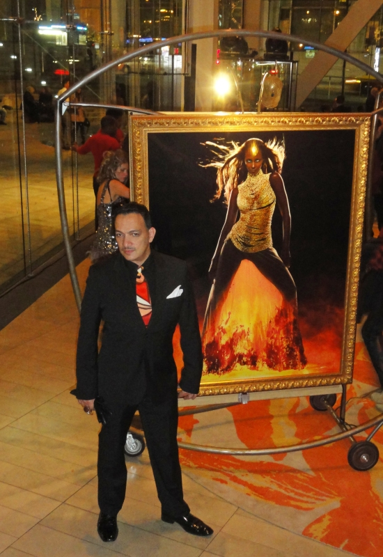 Anthony Rubio at Markus & Indrani's Icons Exhibit and Book Launch Party