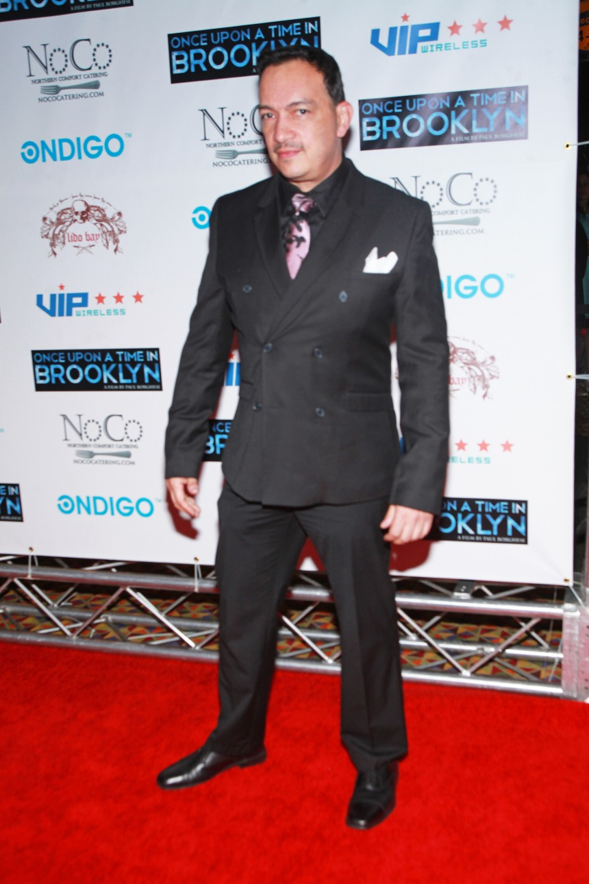 "Anthony Rubio at the ""Once Upon A Time In Brooklyn"" Preimere party"