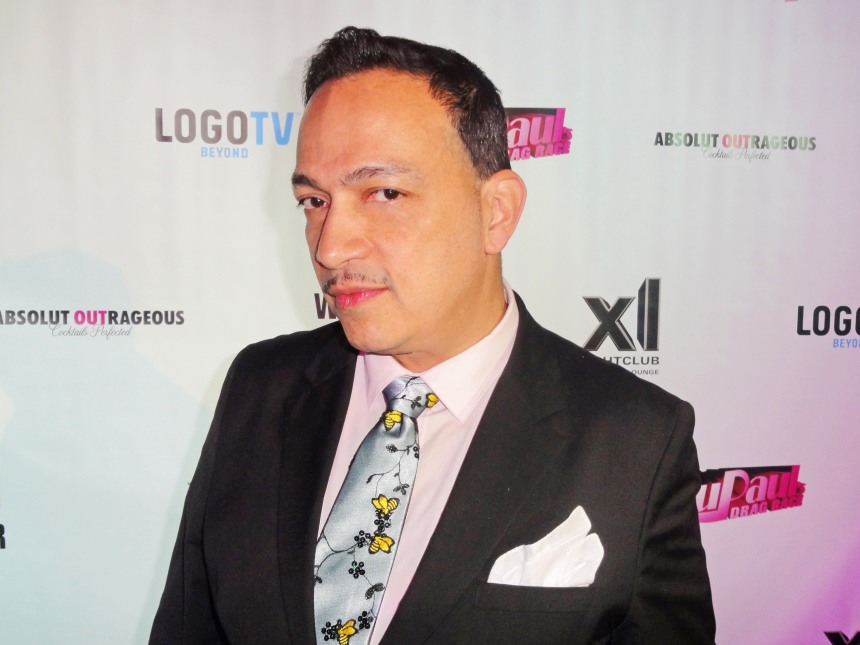 Anthony Rubio attends RuPaul's Drag Race Season 5 Finale Party in New York