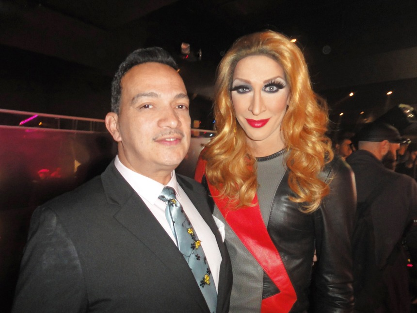 Anthony Rubio and Detox at RuPaul's Drag Race Season 5 Finale Party in New York
