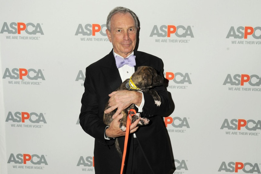 Mayor Michael Bloomberg at The ASPCA 16th Annual Bergh Ball