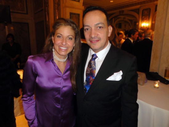 Anthony Rubio with Dylan Lauren at The ASPCA 16th Annual Bergh Ball