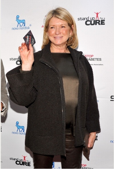 Martha Stewart attends Stand Up For A Cure 2013