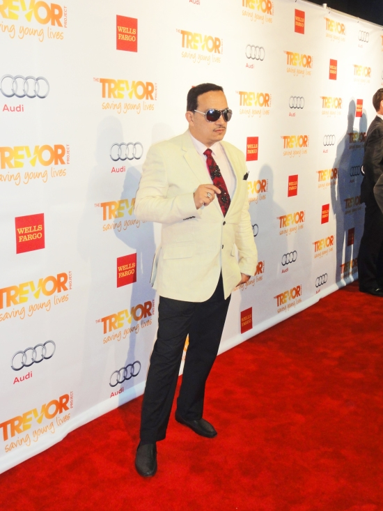Anthony Rubio attends 2013 TrevorLIVE New York