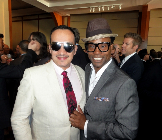 Anthony Rubio and Billy Porter at The Trevor Project's 2013 TrevorLIVE New York