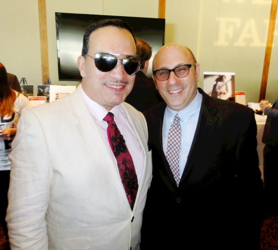 Anthony Rubio and Willie Garson at The Trevor Project's 2013 TrevorLIVE New York