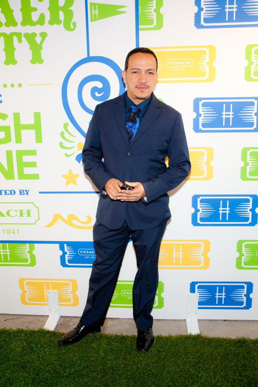 Anthony Rubio attends COACH's 3rd Annual Summer Party at The High Line