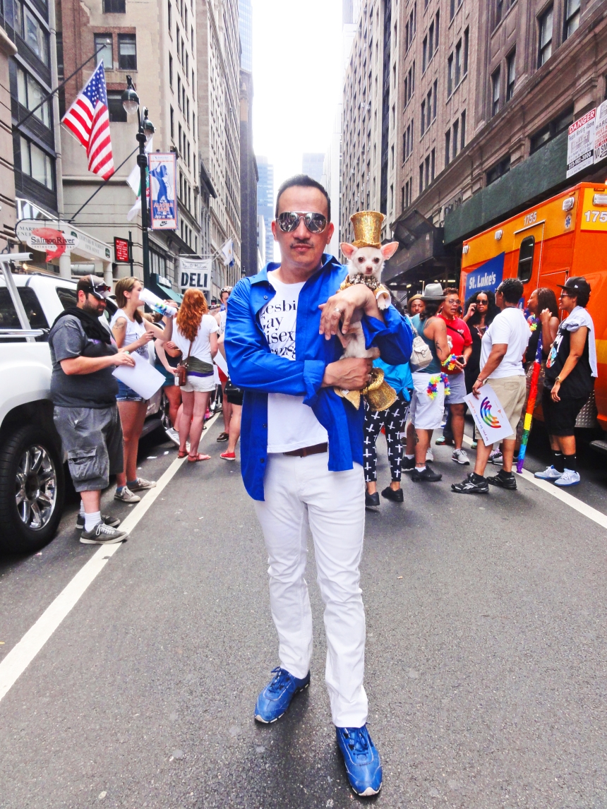 Anthony Rubio attends The March during NYC Pride 2013