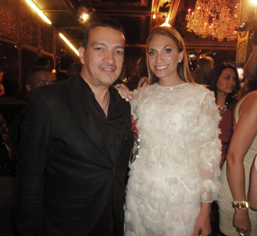 "Anthony Rubio with Heather Thomson at ""Inspired In New York"" Event"