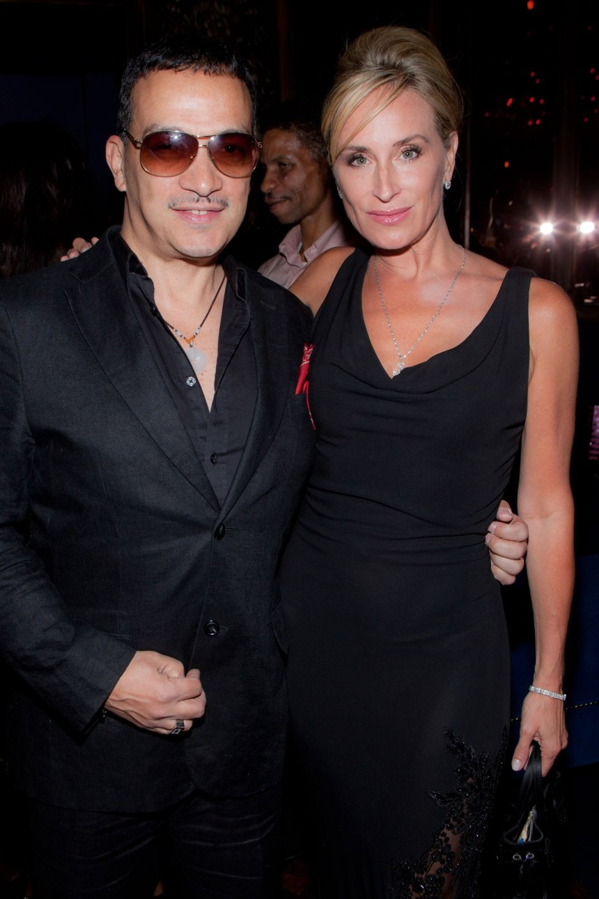 """Anthony Rubio with Sonja Morgan at """"Inspired In New York"""" Event"""