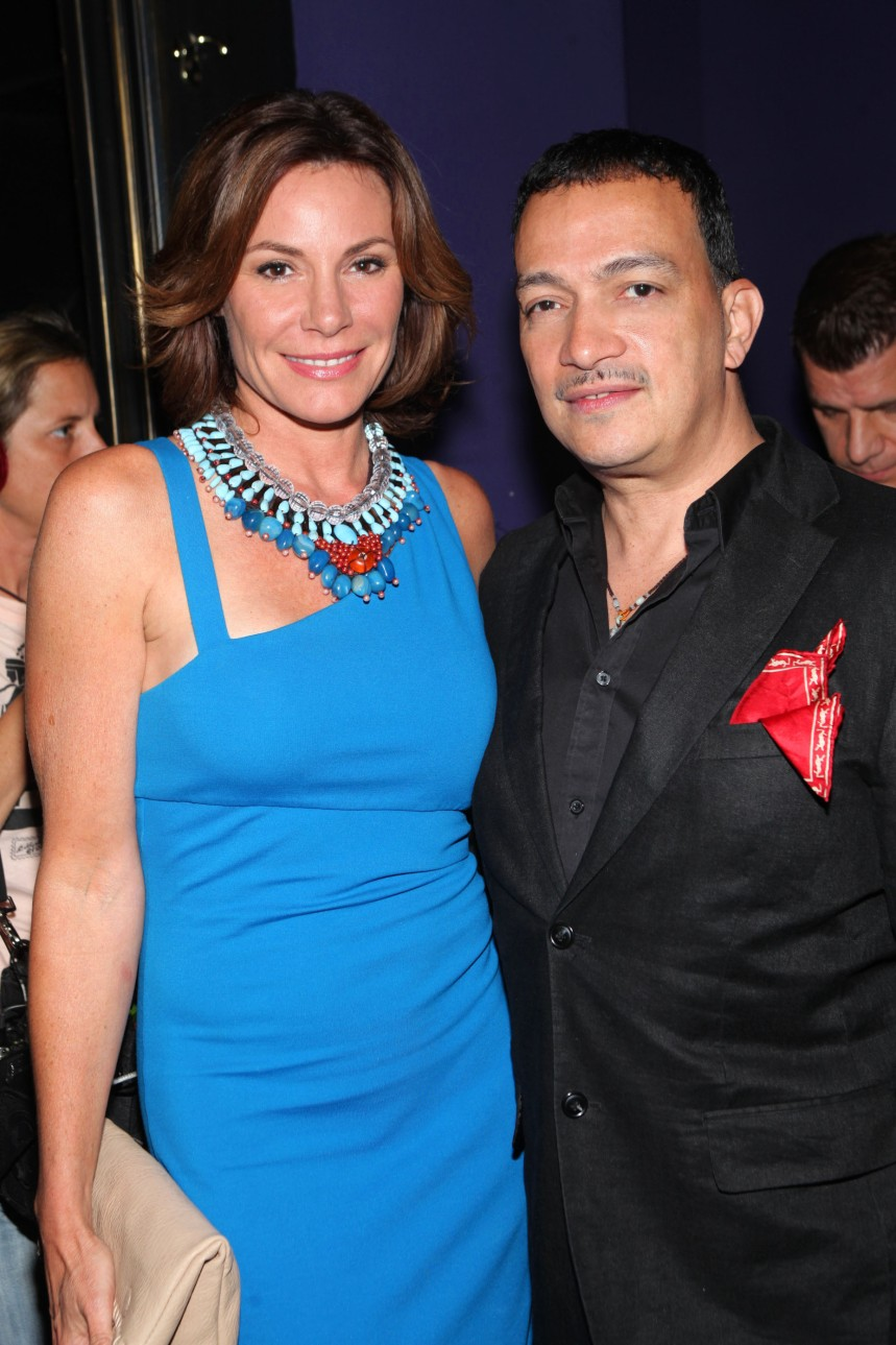 """Anthony Rubio with LuAnn de Lesseps at """"Inspired In New York"""" Event"""