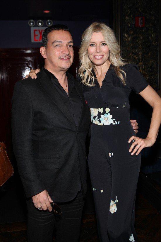 "Anthony Rubio with Aviva Drescher at ""Inspired In New York"" Event"