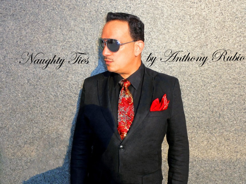 Anthony Rubio Naughty Ties 5 Couture Designs