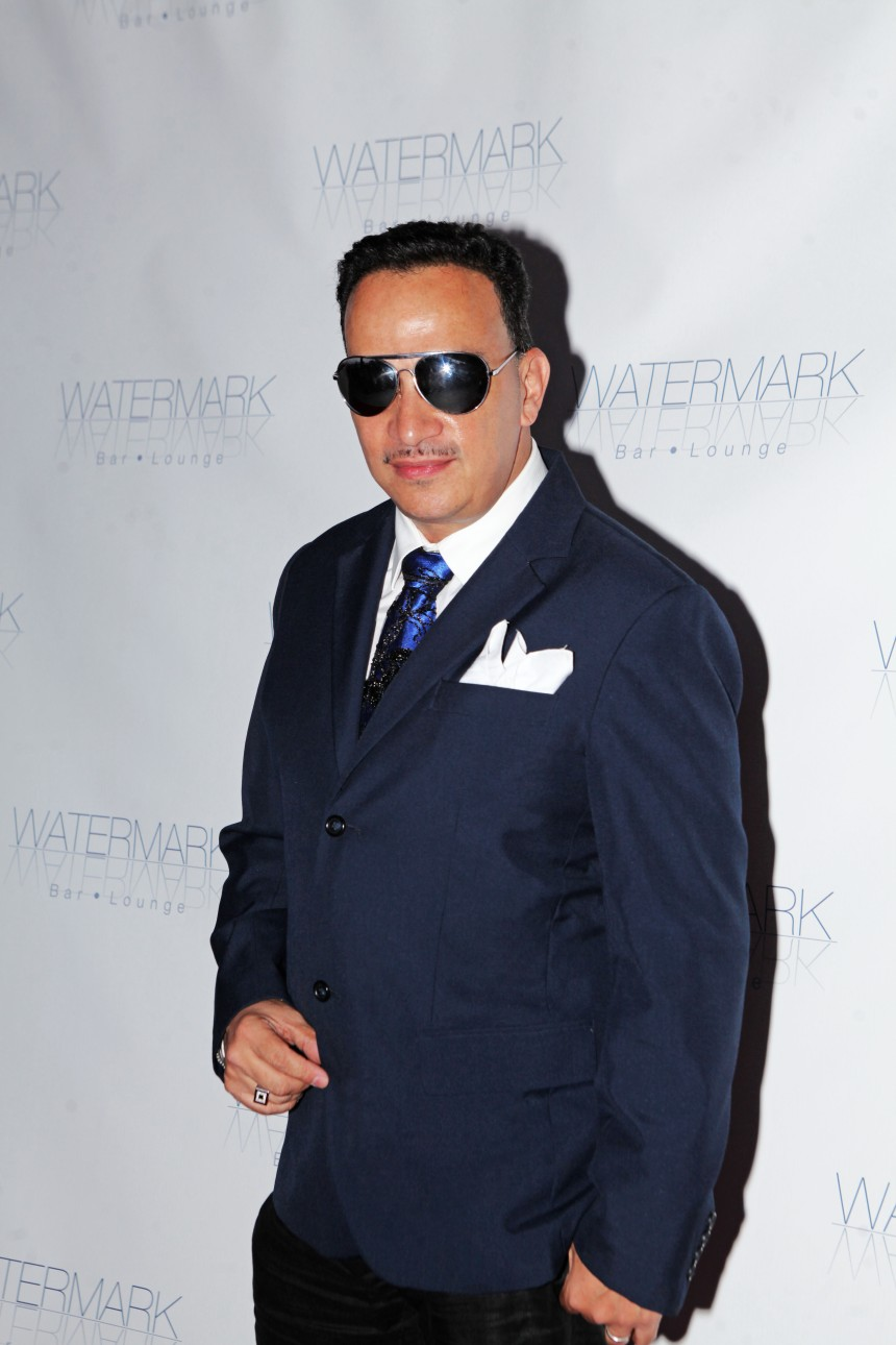 Anthony Rubio at the Watermark launch party.