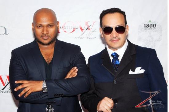 Anthony Rubio and Vengsarkar Budhu (Photo by Yoni Levy)
