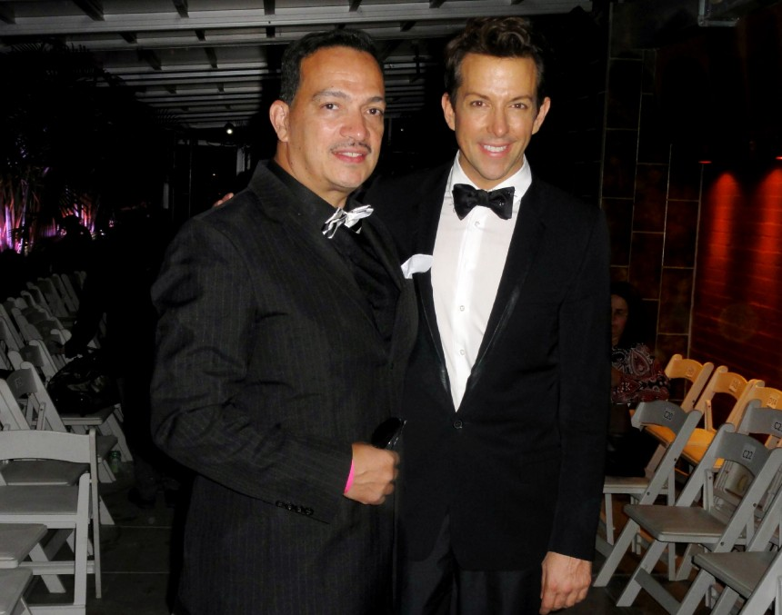 "Anthony Rubio with Derek Warburton at ""Real Fashion, Real Women"" Runway Show"