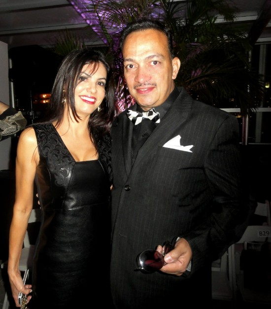 "Anthony Rubio with Adriana De Moura at ""Real Fashion, Real Women"" Runway Show"