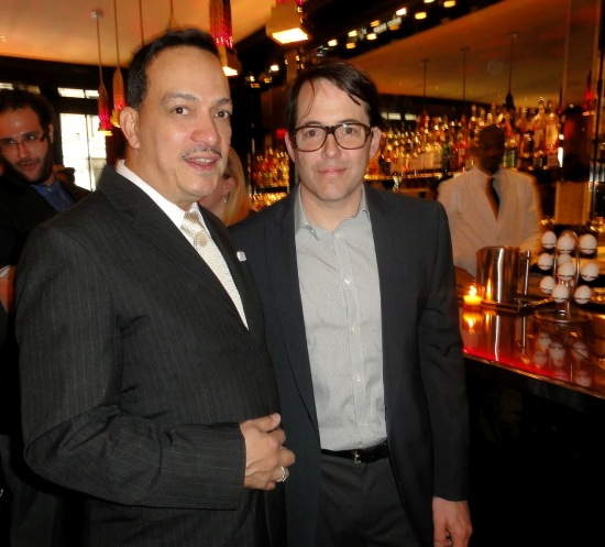 Anthony Rubio and  Matthew Broderick at The 30th Fred & Adele Astaire Awards