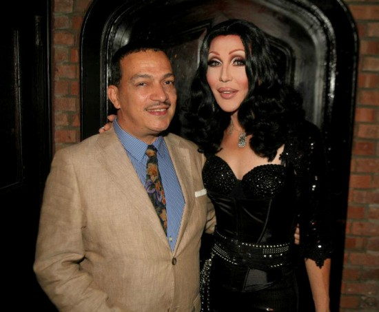 Anthony Rubio and Chad Michaels at The 3rd Annual OASIS benefit for Ali Forney Center