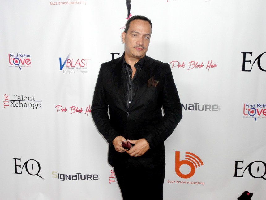 Anthony Rubio attends Coco Austin's Licious Apparel Fashion Runway Show