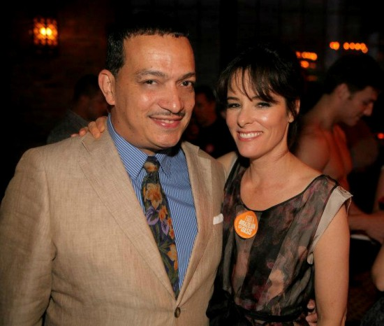 Anthony Rubio with Parker Posey att The 3rd Annual OASIS benefit for Ali Forney Center