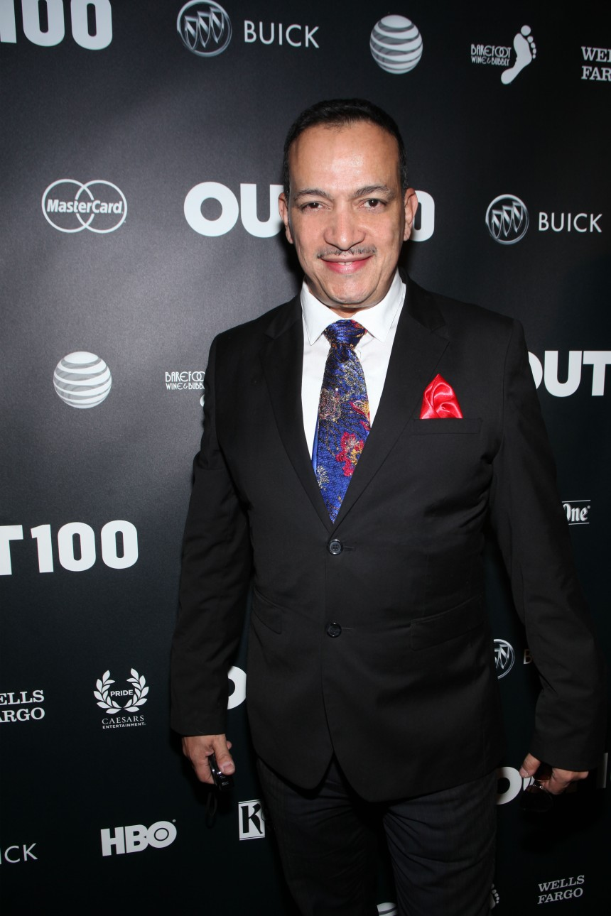 Anthony Rubio attends Out Magazine's 19th Annual Out100 Gala