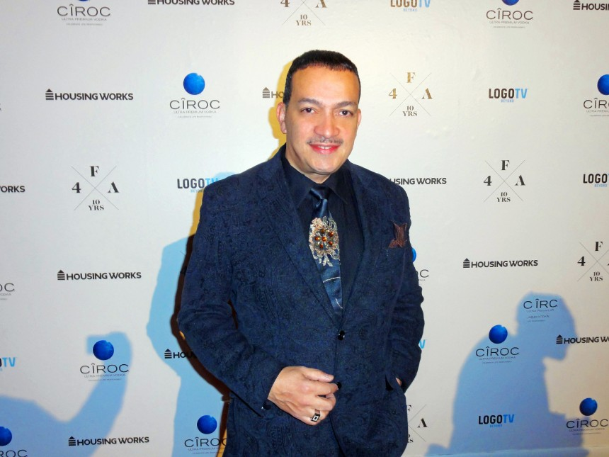 Anthony Rubio attends Housing Works 10th Annual Fashion For Auction Benefit