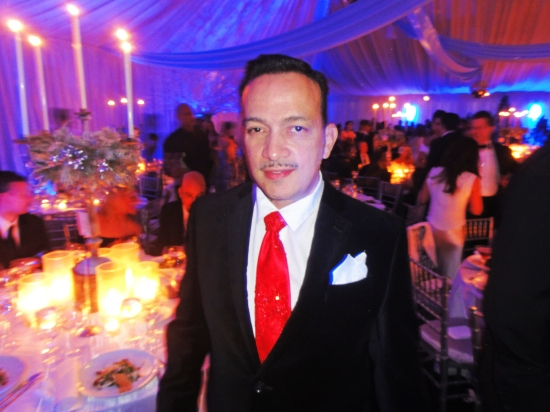 Anthony Rubio attends 14th Annual Winter Wonderland Ball