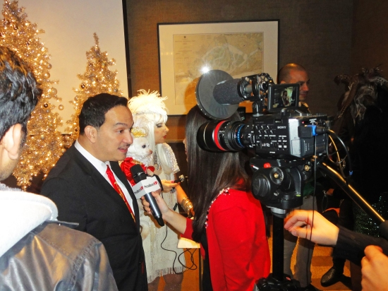 "Anthony Rubio attends The 11th Annual ""Tis The Season"" Toy Drive"