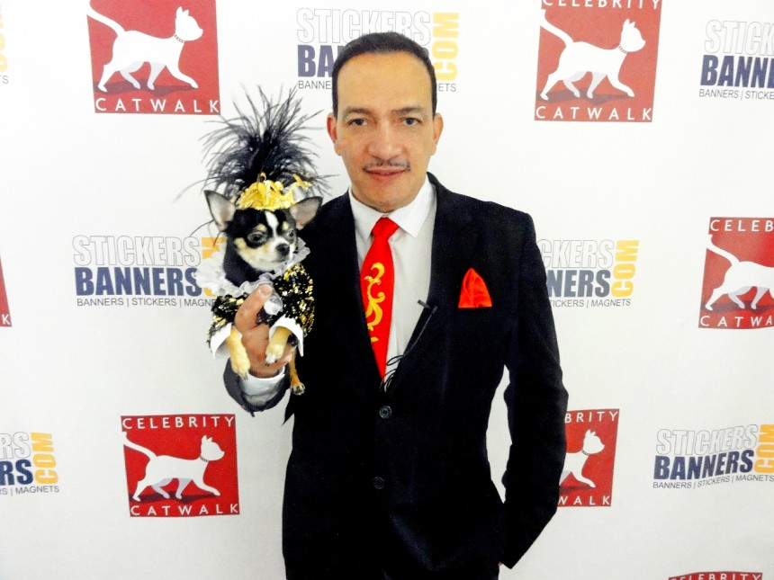 Anthony Rubio attends 2nd Annual Tinsel & Tails by Celebrity Catwalk