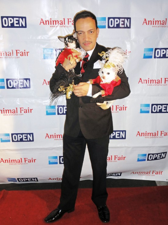 Anthony Rubio attends Animal Fair Magazine's 10th Annual Toys for Dogs Holiday